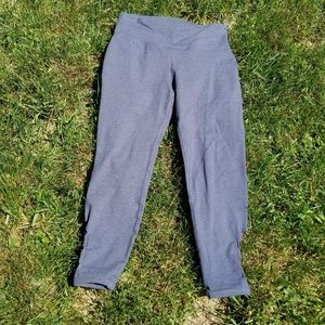 New Old Navy Grey Go-Dry Active Leggings